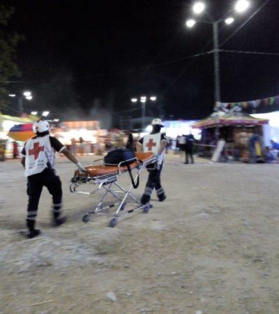Asaltan y balean a una persona en la Feria de la Cancún Mall