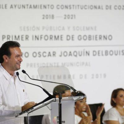 Rompeolas: Logra Pedro Joaquín Delbouis comunicar en su Primer Informe
