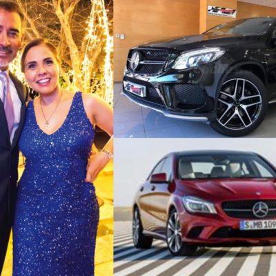 En menos de un año, esposo e hijo de la Alcaldesa Mara Lezama compran automóviles de lujo por 2 millones de pesos