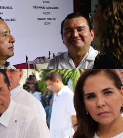 Rompeolas: El ganador es Carlos Joaquín en el episodio del reparto de comisiones del Congreso del estado