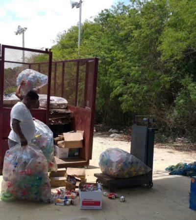 """En """"Reciclatón"""" del CEA logran recolectar más una tonelada de residuos en Akumal"""