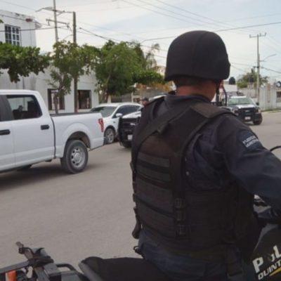 Rescatan a familiar de policía ministerial que fue 'levantado' en la Sm 259 de Cancún; hay cuatro involucrados detenidos