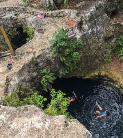 La Ruta de los Cenotes se convierte en uno de los atractivos más importantes del Caribe Mexicano