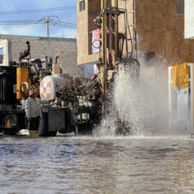 Realizan limpieza de 350 pozos de absorción en Puerto Morelos