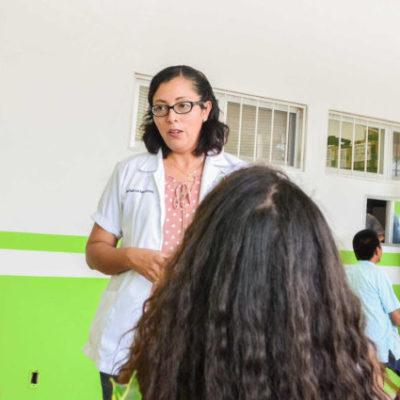 Políticas públicas impulsan desarrollo del sector salud en beneficio de habitantes de Puerto Morelos
