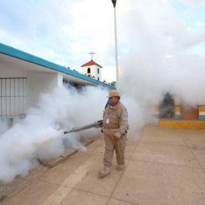 Extienden campaña de fumigación en Leona Vicario para combatir enfermedades transmitidas por vector