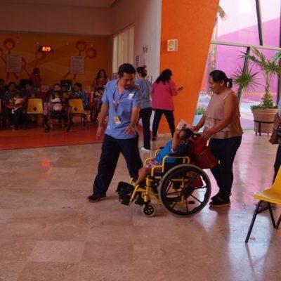 Piden familias a Vila Dosal renovar financiamiento para que el CRIT siga operando en Yucatán