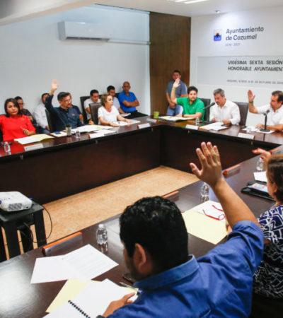Gestiona Ayuntamiento la instalación de 6 mil 200 luminarias en 36 colonias de Cozumel