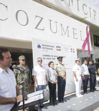 Se suma gobierno de Cozumel a la campaña nacional de Canje de Armas 2019