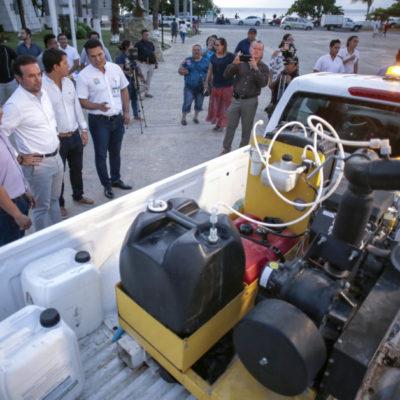Arranca la sexta Jornada de Nebulización en la isla de Cozumel
