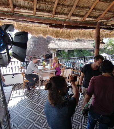 Puerto Morelos se convierte en sitio de interés para filmaciones