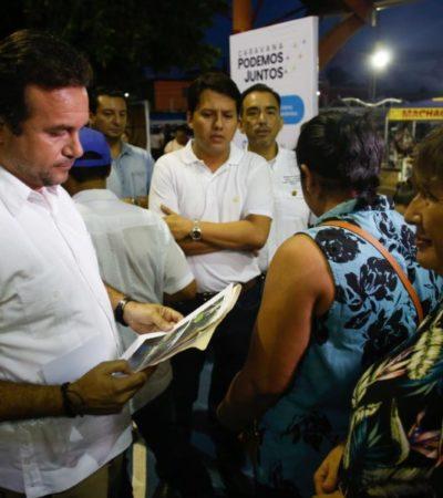 Se beneficiaron más de mil 600 personas con 40 servicios públicos en la'Tercera Caravana Podemos Juntos' de Cozumel