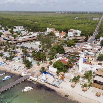 Inquieta a locatarios daños al arrecife y estancamiento económico de negocios por Home Port en Puerto Morelos
