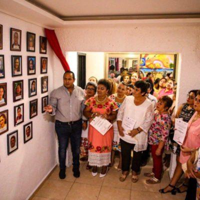 Conmemoran en Isla Mujeres el 66 aniversario del voto de la mujer mexicana