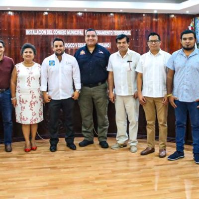 Instalan Consejo Municipal de Ordenamiento Territorial Ecológico y Desarrollo Urbano en Isla Mujeres