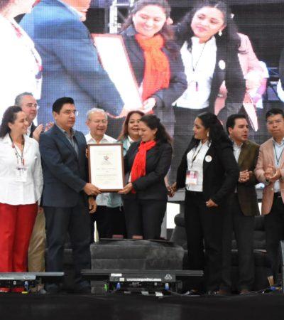 Recibe Isla Mujeres premio de 'Innovación de Producto Turístico' durante Primer Tianguis de Pueblos Mágicos