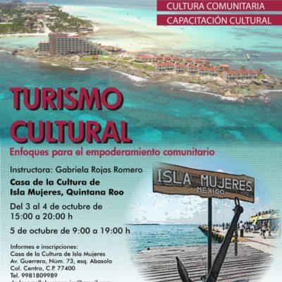 Amplían la oferta turística promoviendo al sector cultural de Isla Mujeres
