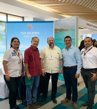 Promocionan a Isla Mujeres en el Cancún Travel Mart 2019