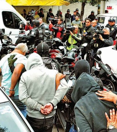 SE CAE EL CASO TEPITO: Por 'inconsistencias', liberan a 27 de los 31 presuntos delincuentes detenidos en magno operativo en CDMX