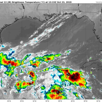 PRONÓSTICO DEL CLIMA: Miércoles con lluvias y un ligero descenso de temperatura en Quintana Roo