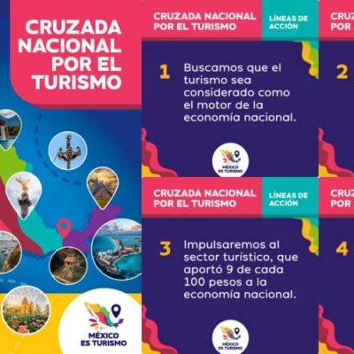 Anuncia Senadora Mayuli Martínez el inicio de la Cruzada Nacional por el Turismo