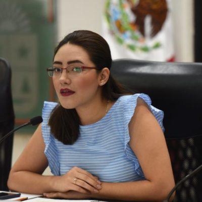 Respalda la morenista María Fernanda Trejo a Reyna Durán y llama a las diputadas para hacer un frente contra la violencia política y de género que se registra en el Congreso