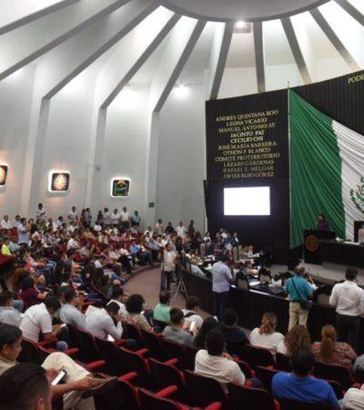 Crisis partidistas dentro del congreso local son parte de la democracia de QR, afirma el secretario de gobierno, Arturo Contreras