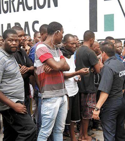 Llama titular del INM 'humanos de la raza negra' a migrantes africanos y los considera violentos