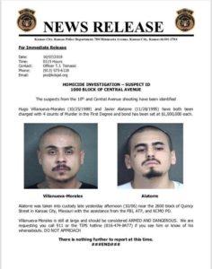 Muestra Ebrard fotos de atacantes en Kansas donde murieron dos mexicanos