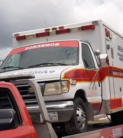 Invierten ciudadanos y empresarios en reparación de dos ambulancias, ante negativa de apoyo por parte de autoridades en Chetumal