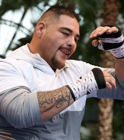 ADVIERTE ANDY RUIZ: 'Seré un animal' contra Anthony Joshua