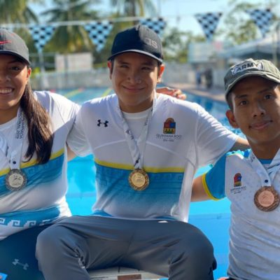 El quintanarroense Andy Guerrero gana oro y plata en la Paralimpiada Nacional 2019