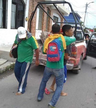 Elementos de Protección Civil detienen a  asaltante de farmacia en Chetumal