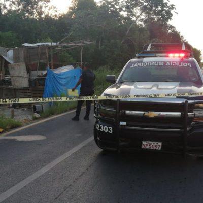 Asesinan a albañil de golpe en la cabeza en Playa del Carmen