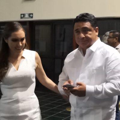 Atenea Gómez y Eduardo Martínez dicen sorprenderse por cambio de coordinador