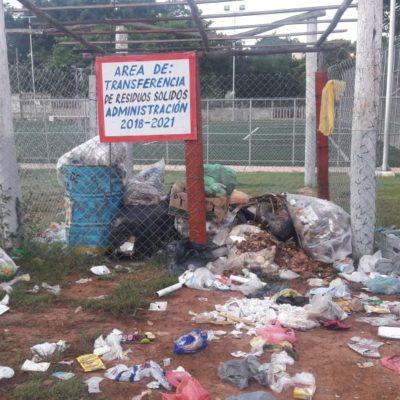 Focos contaminantes, áreas de transferencia de basura en José María Morelos