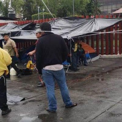 Suspenden actividades en la Cámara de Diputados por bloqueo de campesinos campechanos