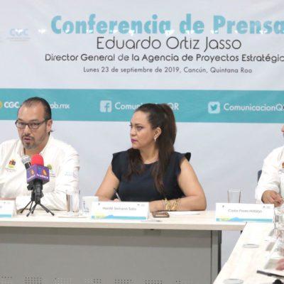 La Agencia de Proyectos Estratégicos trabaja en cinco proyectos estratégicos para impulsar el crecimiento de Quintana Roo