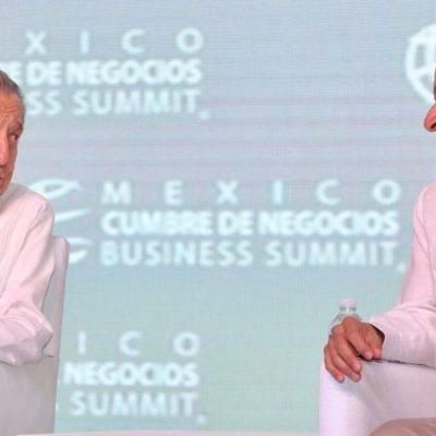 CONCLUYE CUMBRE DE NEGOCIOS EN CANCÚN: Pide Carlos Joaquín enfrentar retos en materia económica, financiera y comercial por encima de limitaciones de la coyuntura actual
