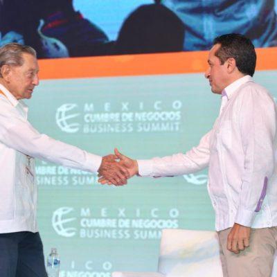 MÁS DE 600 PARTICIPANTES Y MÁS DE 100 ORADORES: Al concluir Cumbre de Negocios, refrenda Quintana Roo su capacidad para atraer más negocios e inversiones con los que puedan crearse empleos formales para la gente