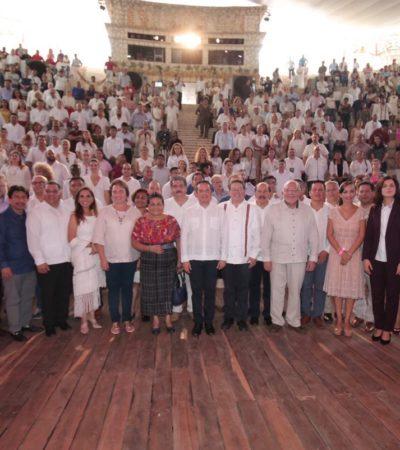IMPULSAN PROTECCIÓN AL MEDIO AMBIENTE Y CRECIMIENTO CON CRITERIOS DE SUSTENTABILIDAD: Participa Gobernador en el Encuentro Internacional de Autoridades Locales en Playa del Carmen