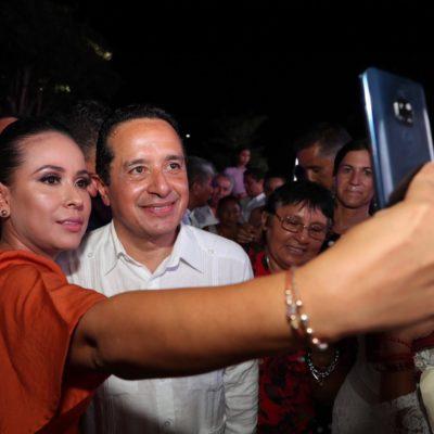 Hoy, en Quintana Roo, quien acosa, abusa, maltrata a una mujer ¡la paga!, advierte Carlos Joaquín