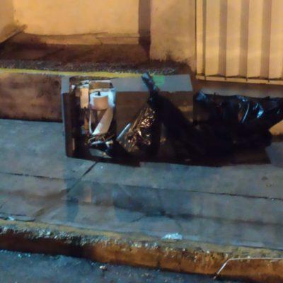 Involucrados en intento de robo de cajero en Cozumel fueron contratados, revela Policía Municipal