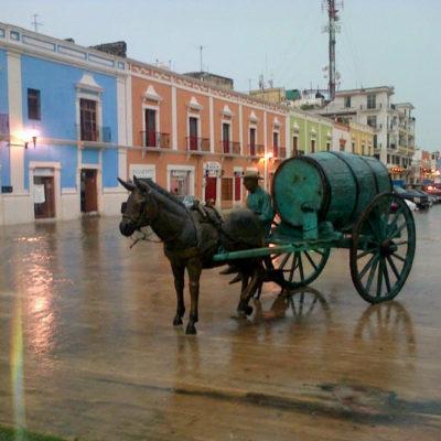 Pronostican lluvias intensas en Campeche y Chiapas, así como muy fuertes en Veracruz, Tabasco, Yucatán y Quintana Roo
