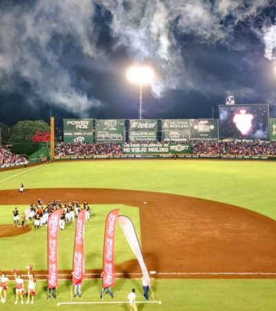 ASISTEN MÁS DE 600 MIL AL KUKULCÁN DURANTE 2019: Confirma afición de Leones que el beisbol es rey en Yucatán
