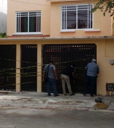 Vuelven a catear casa en Cancún supuestamente ligada a asesinato de policía estatal