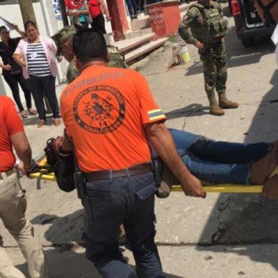 Naufragan africanos en costa de Chiapas; reportan  ocho rescatados, dos desaparecidos y un muerto