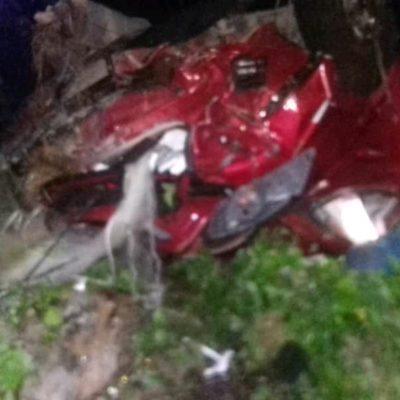 Choque fatal en carretera de cuota en Lázaro Cárdenas