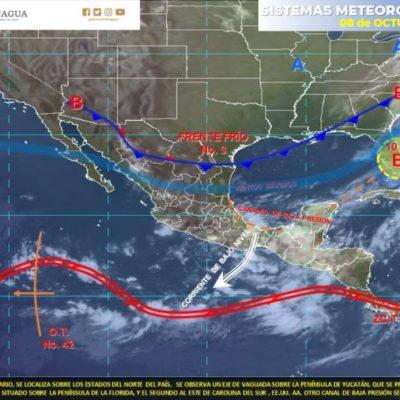 PRONÓSTICO DEL CLIMA: Persistirán lluvias con actividad eléctrica y vientos en QR