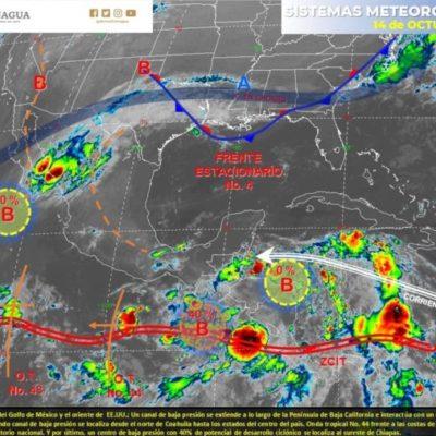 Prevén lunes con calor y lluvias aisladas en Quintana Roo